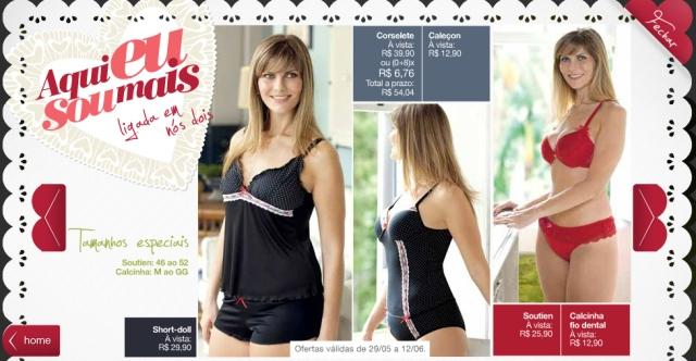 c0f436143454e3 Pernambucanas ganha seção Plus Size de lingerie | FATshion