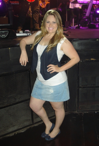 Look do Dia: Saia Jeans