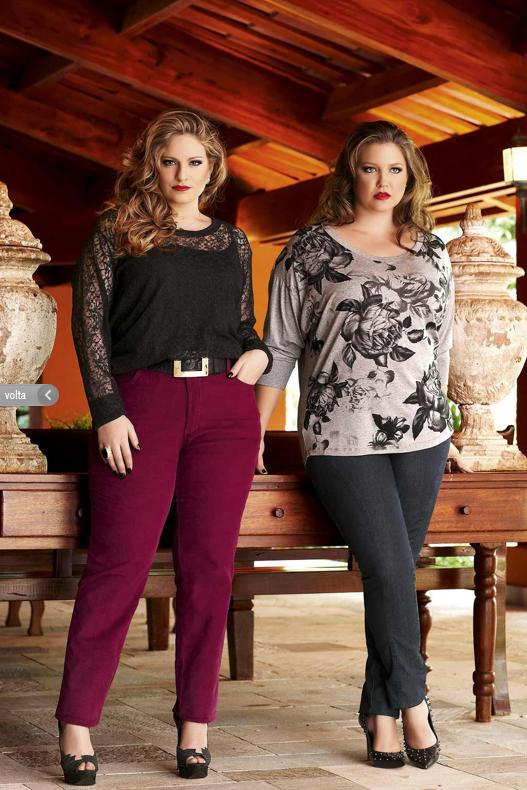 Carla Manso e Gisele Hosp para a Realist Plus Size