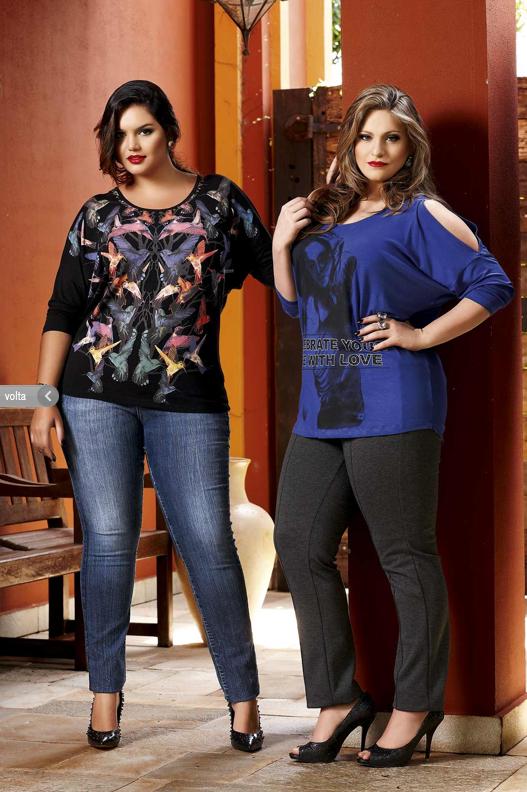 Carla Manso e Cléo Fernandes para a Realist Plus Size