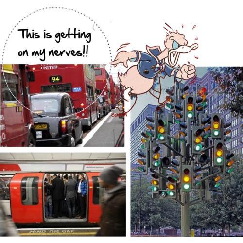 Transito em Londres