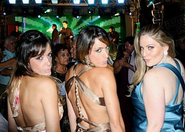 Louise Zaffalon, Thalita Zaffalon e Carla Manso