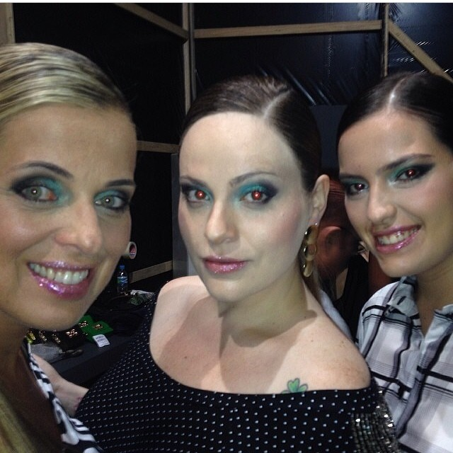Márcia Saad, Carla Manso e Ariadne Menegon no Mega Polo